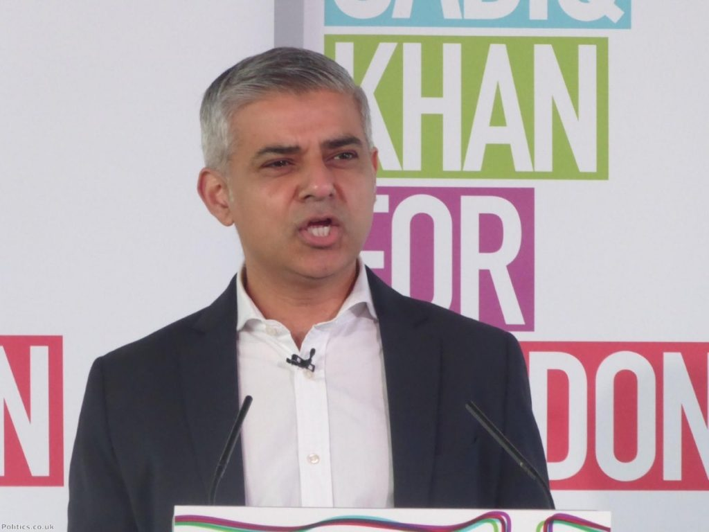 Sadiq Khan believes TfL is failing to represent Londoners