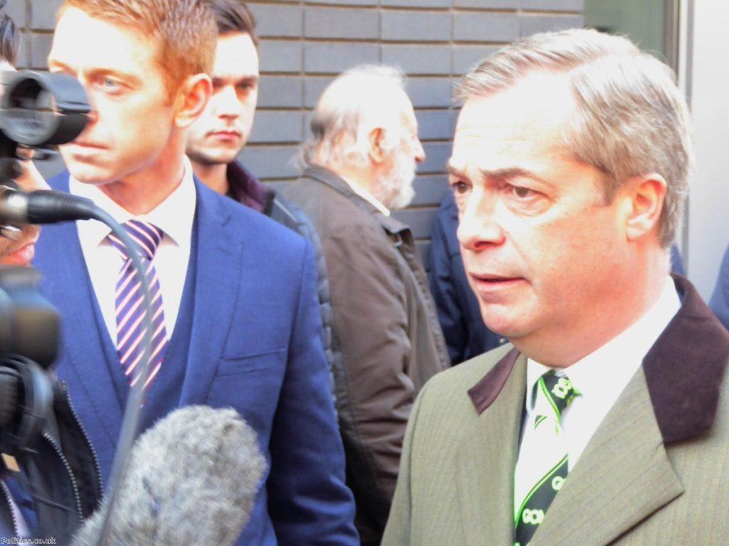 "Nigel Farage: ""Which politician isn't divisive?"""