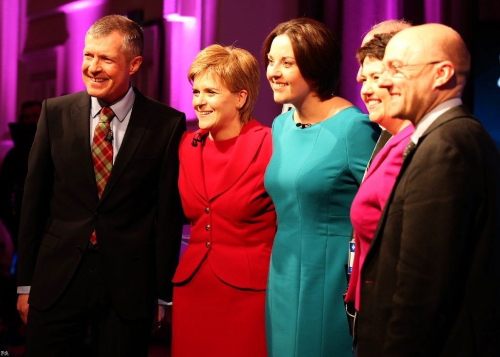 'This was devolved Scottish politics as it had been imagined by the Scottish Parliament's founding mothers and fathers'