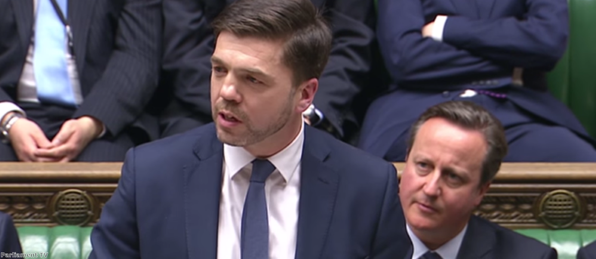 Stephen Crabb replaced Iain Duncan Smith as the work and pensions secretary last month
