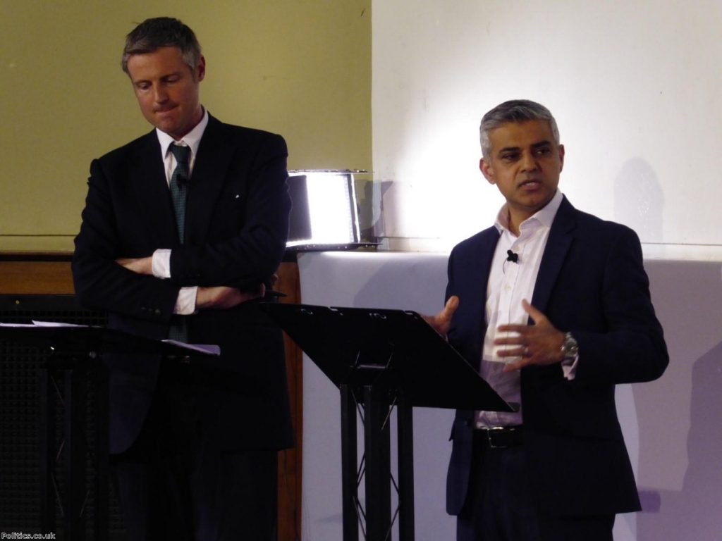 Sadiq Khan says he has been disappointed in 'nice guy' Zac Goldsmith's campaign