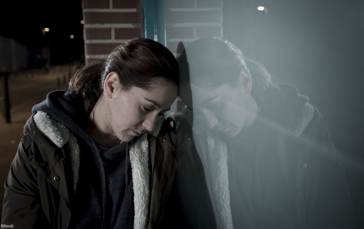 Many women are left with the impossible choice of remaining in an abusive relationship or sleeping rough