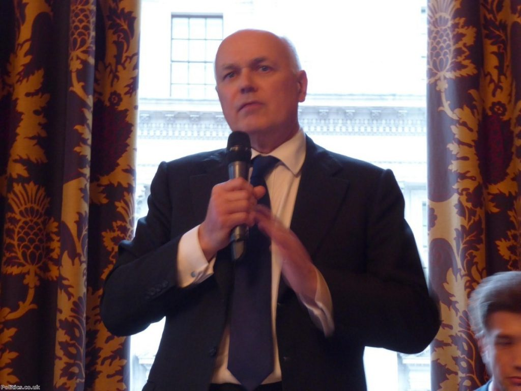 """Iain Duncan Smith: """"Of course there's going to be risks if you leave"""""""