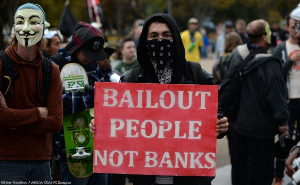 """""""Our rulers also handed our banking system to people who could neither value or even understand it – and then made us pay when it crashed"""""""