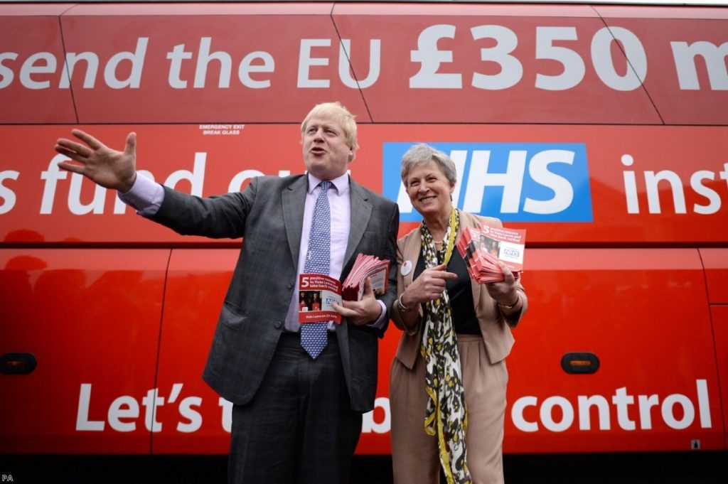 Vote Leave claims 'undermines trust in official statistics'