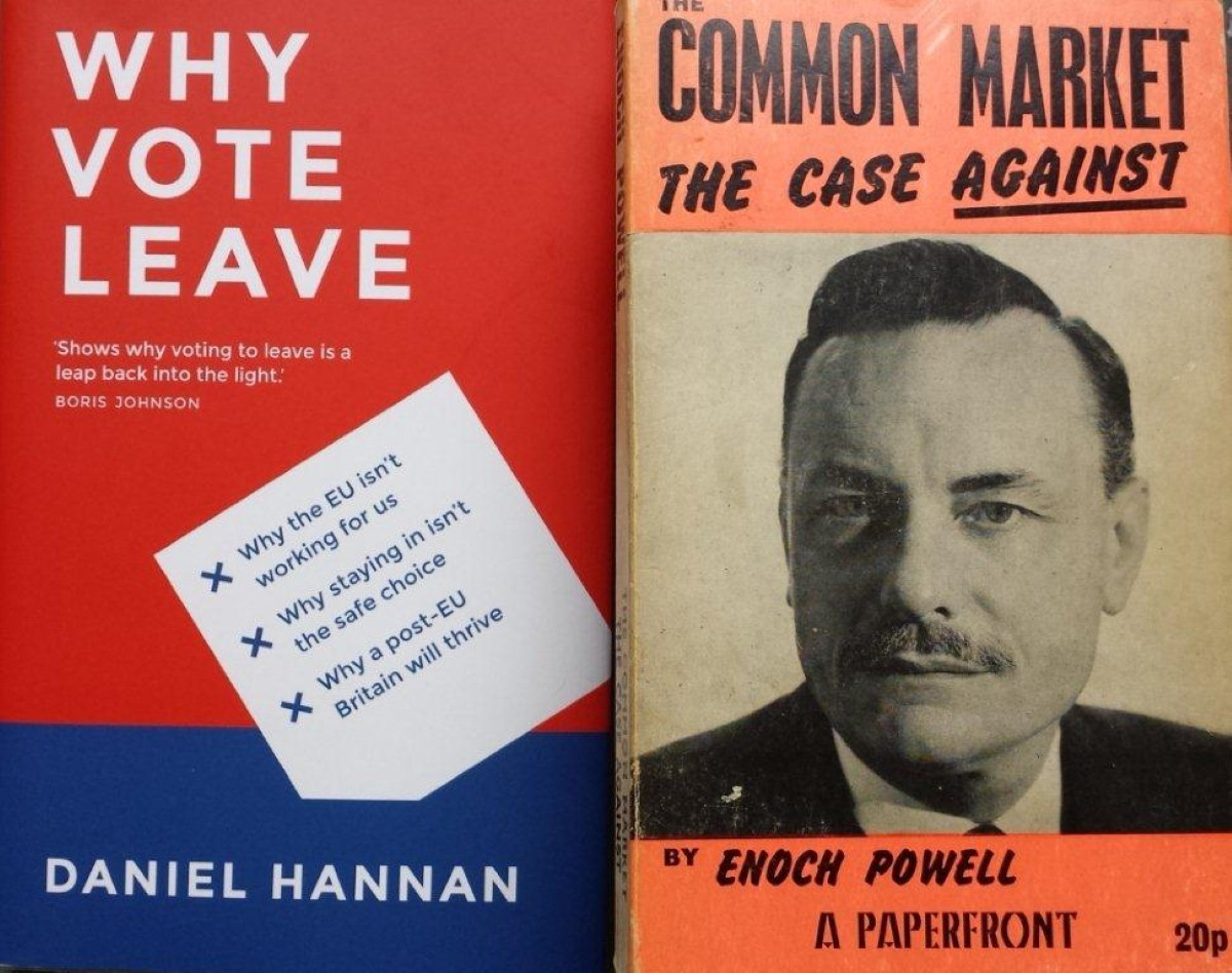 """""""The book follows the tradition of Hannan's pin-up Enoch Powell"""""""