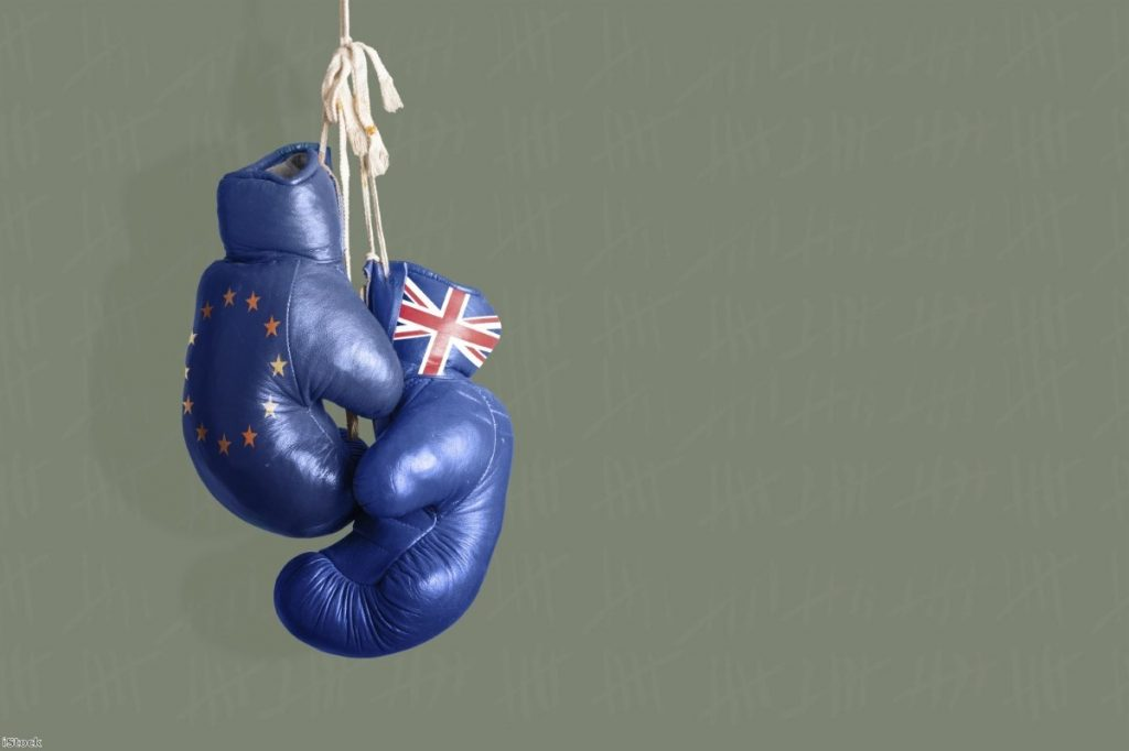 """The gloves are off as the Brexit process finally moves from stagey diplomacy to a tussle for public opinion"""