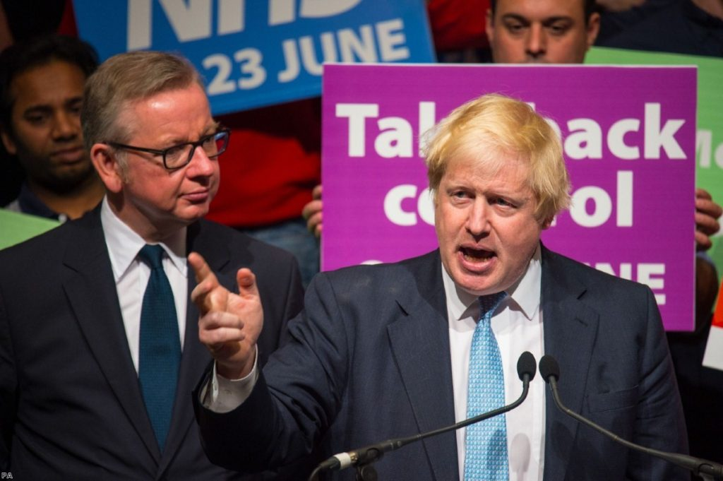 Are Boris Johnson and the Brexiteers about to take back control?