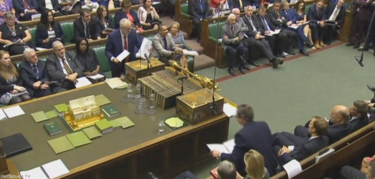 Labour MPs acted as if Jeremy Corbyn was no longer there