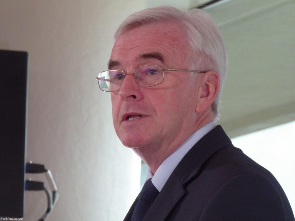 "John McDonnell: ""We have to respect the decision that was made in the referendum"""