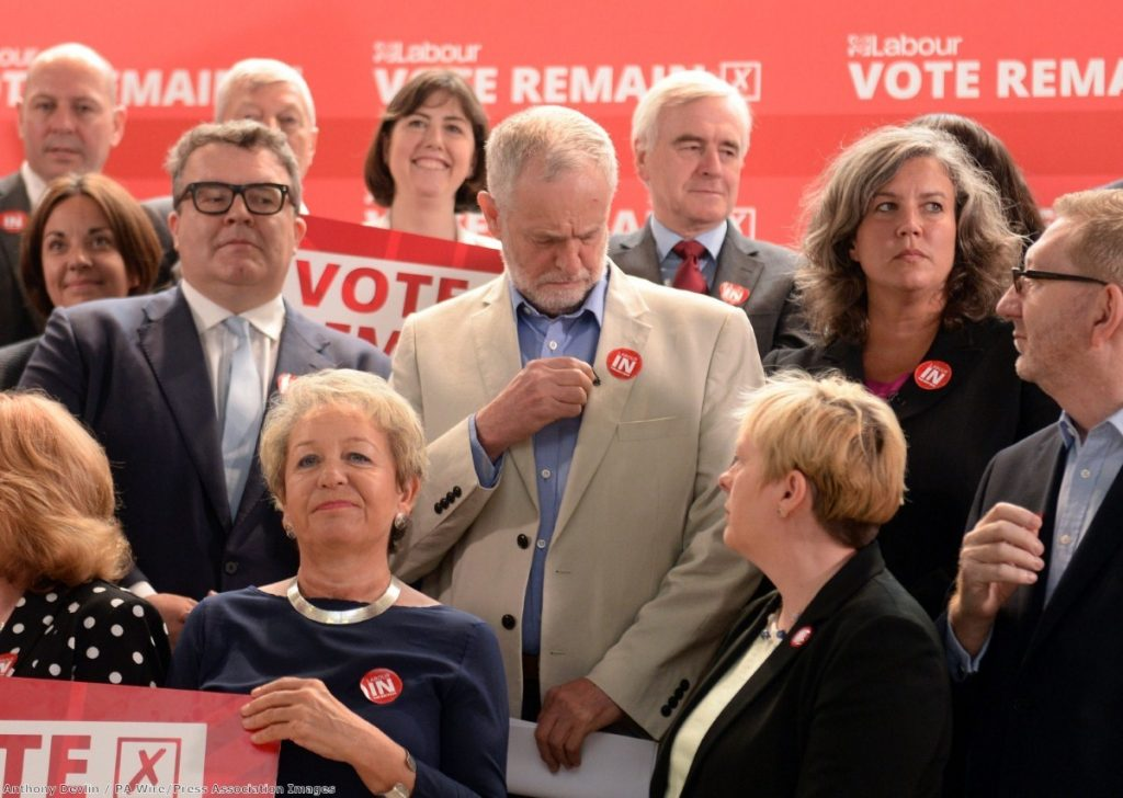 Labour MPs failed to offer members a viable alternative