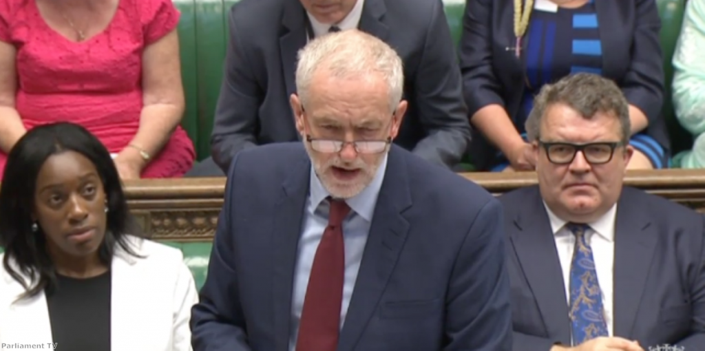 Jeremy Corbyn was highly effective in arguing the case against grammar schools