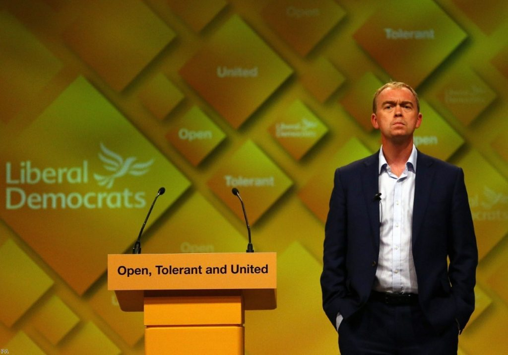 """Tim Farron: """"There is nothing wrong with identity"""""""