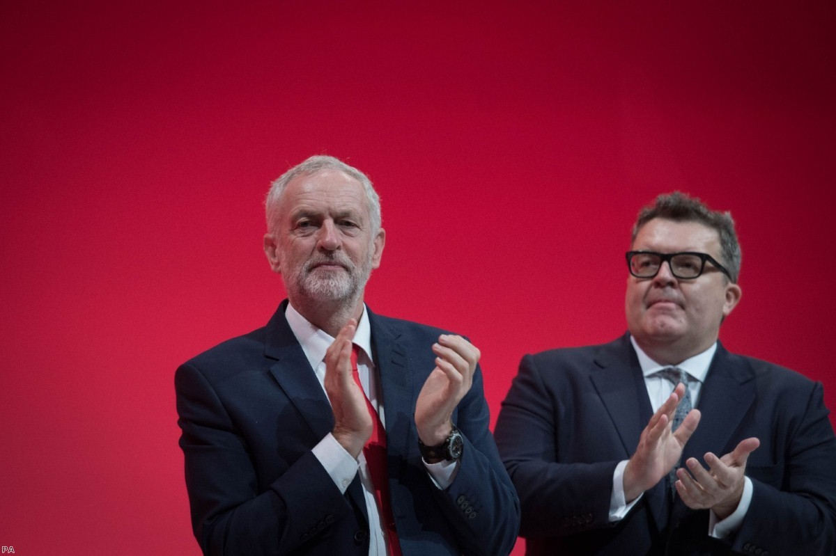 Jeremy Corbyn has faced pressure from Tom Watson and others to shift Labour's immigration policy