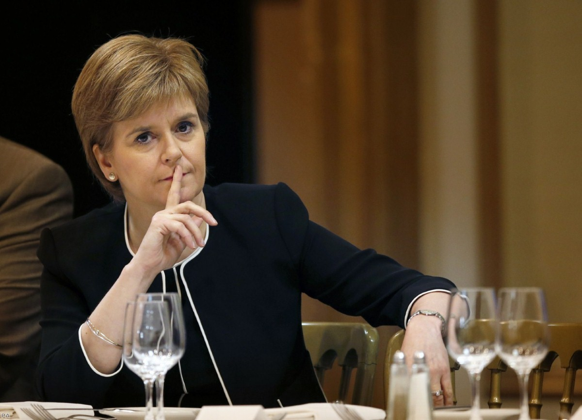 First minister warns Theresa May not to force Scotand out of the single market