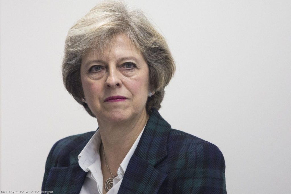 """The prime minister has prioritised the crazed demands of the right-wingers of her party - on whose support she is reliant - over the national interest"""