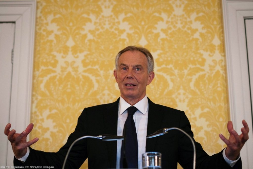 """In many ways, Blair is emblematic of the type of politics the electorate rejected during Brexit."""