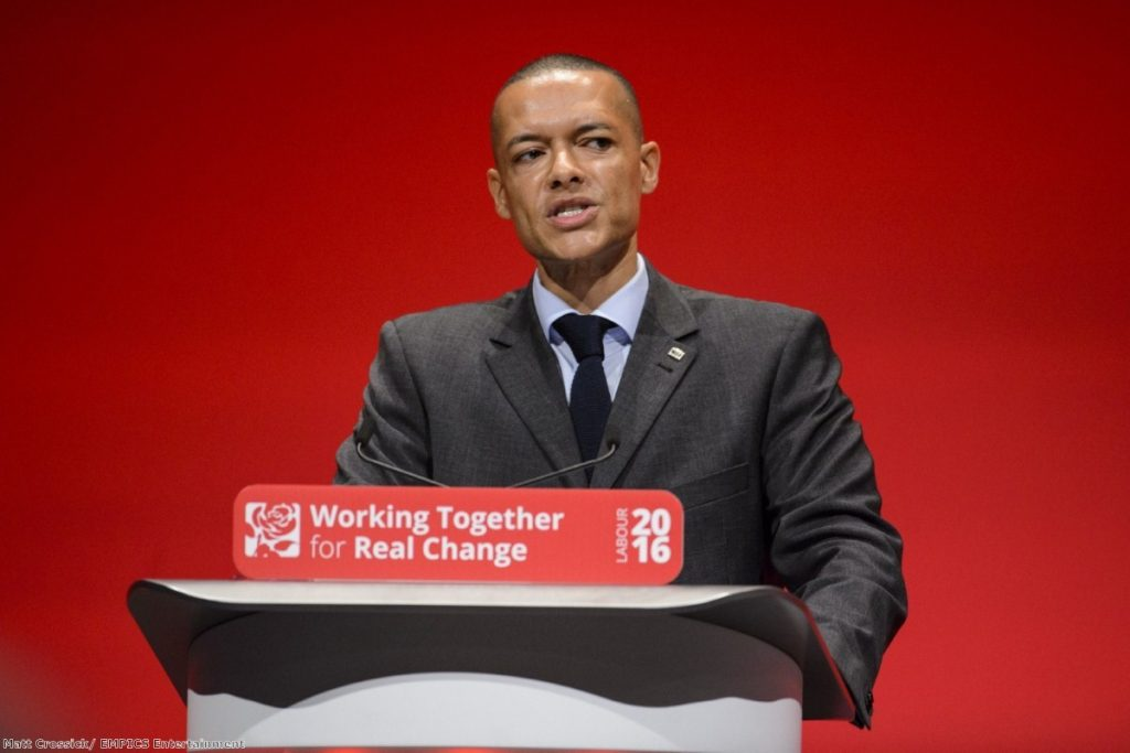 """""""It quickly becomes obvious why Lewis' name has been repeatedly mentioned as a possible leader of the Labour party"""""""