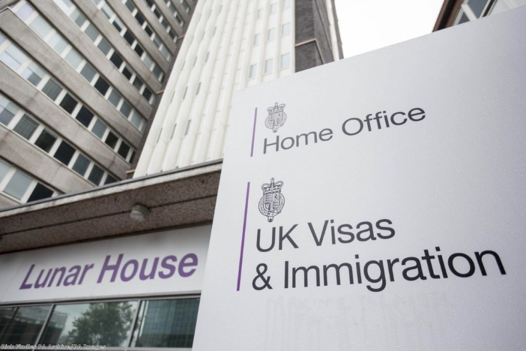 """""""As for existing UK residents, one hopes the Home Office come to their senses and start making clear what on earth they are going to do"""""""