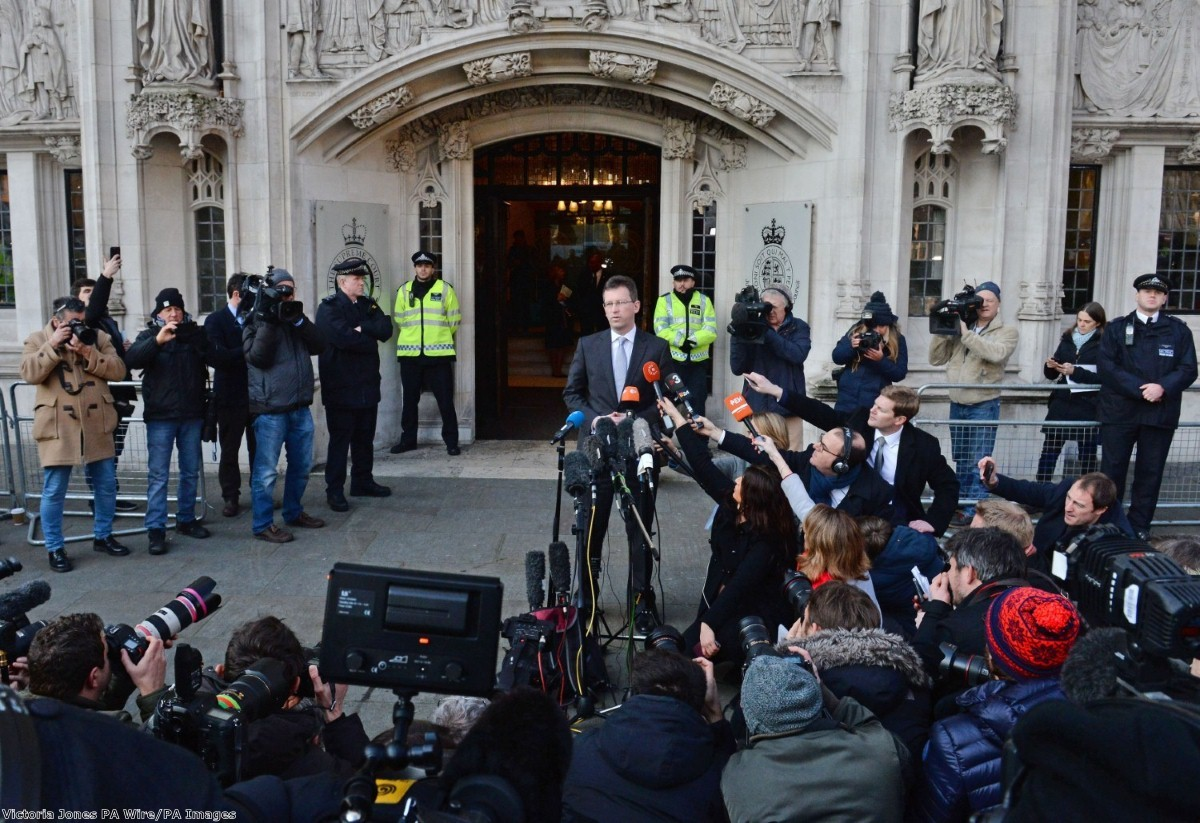 """""""You might ask why the government bothered to even bring the case in the first place, given no-one ever thought it would lose a vote in parliament."""""""