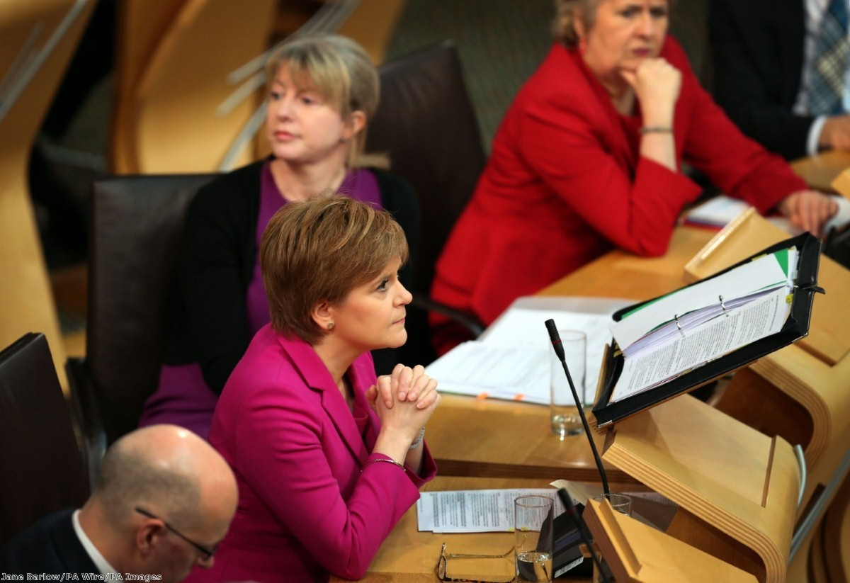 """""""The expectation that Sturgeon will announce a second referendum is now widespread"""""""