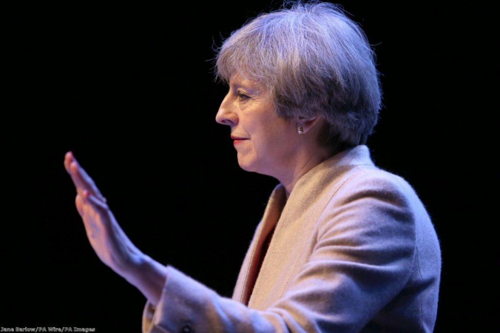 """""""The manner in which her rhetoric negated her own policies on Brexit was uncanny."""""""