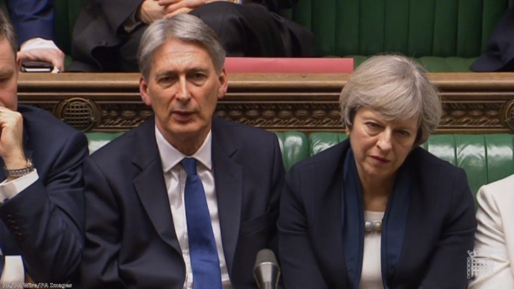 """They want Philip Hammond to start opening the purse strings for no-deal preparation"""