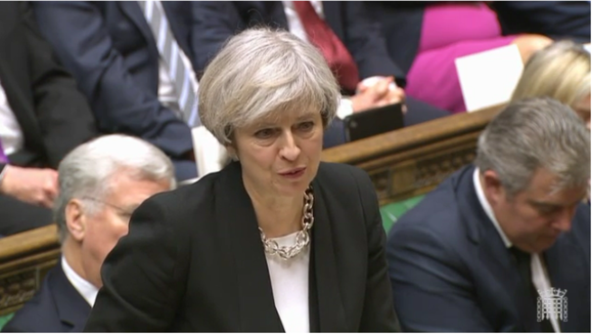 May: Brexit position reversed less than a week into Article 50