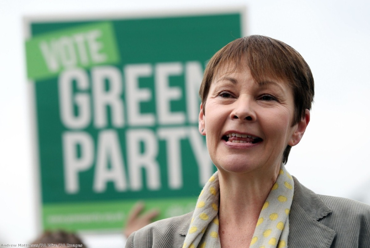 The 'safe' nature of Green party co-leader Caroline Lucas' seat makes it harder for her party to cut deals elsewhere