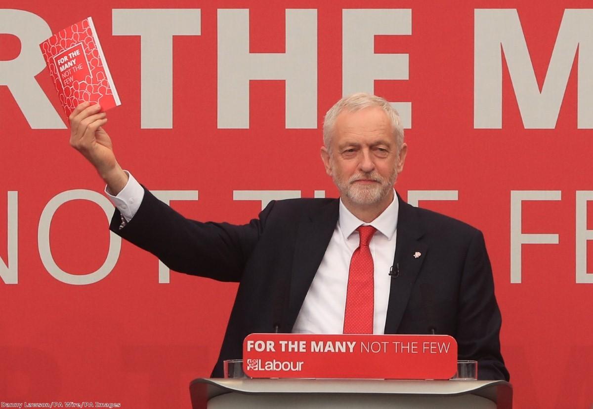 Will Corbyn's manifesto win the right votes in the right seats?