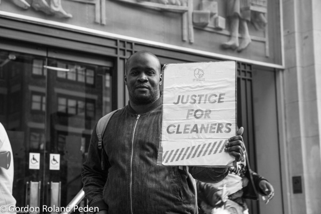 Outsourced cleaners at the LSE want the same terms and conditions as those employed directly by the university.