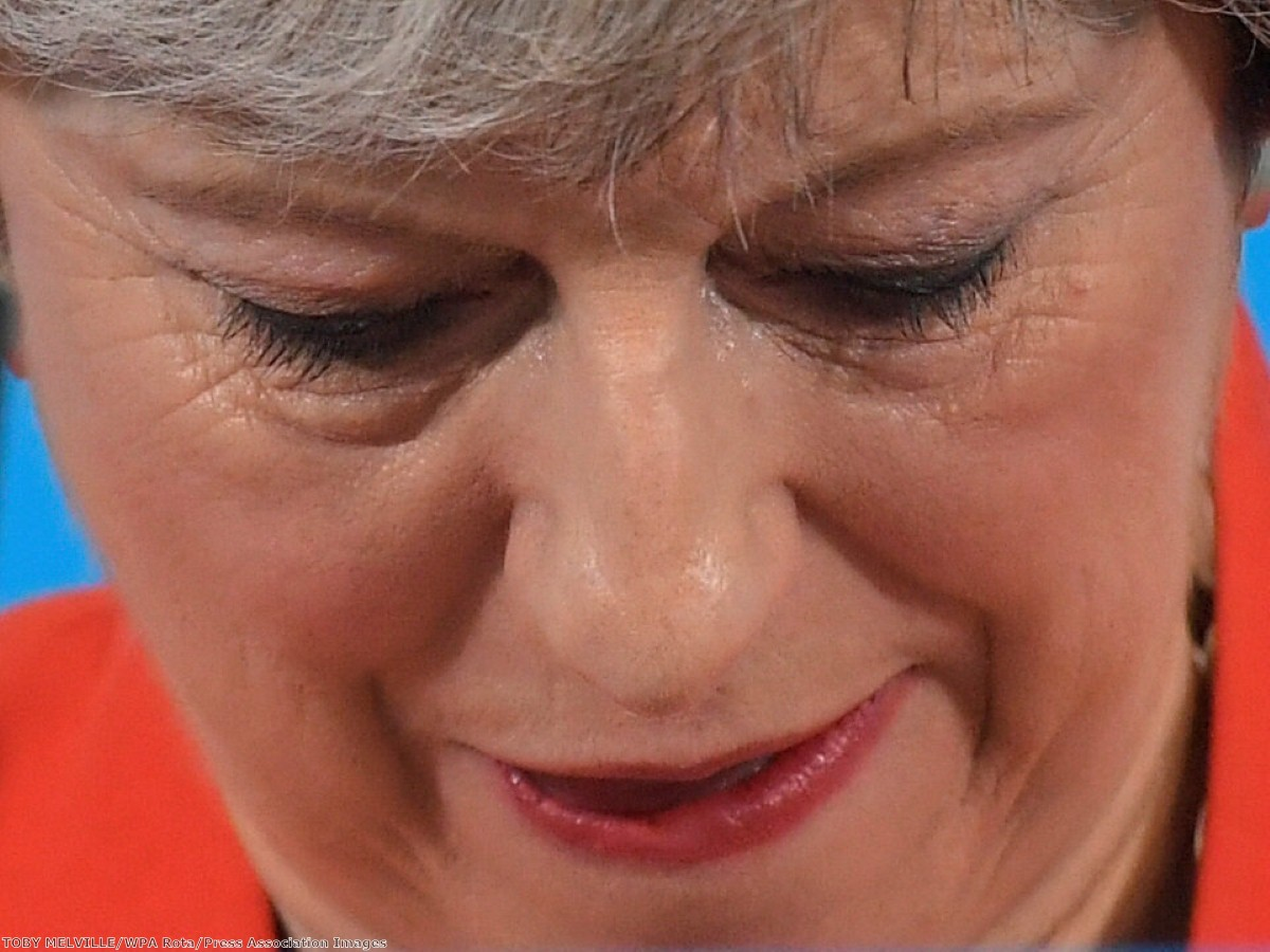 Theresa May is having a nightmare of her own making - but remains more popular than Jeremy Corbyn