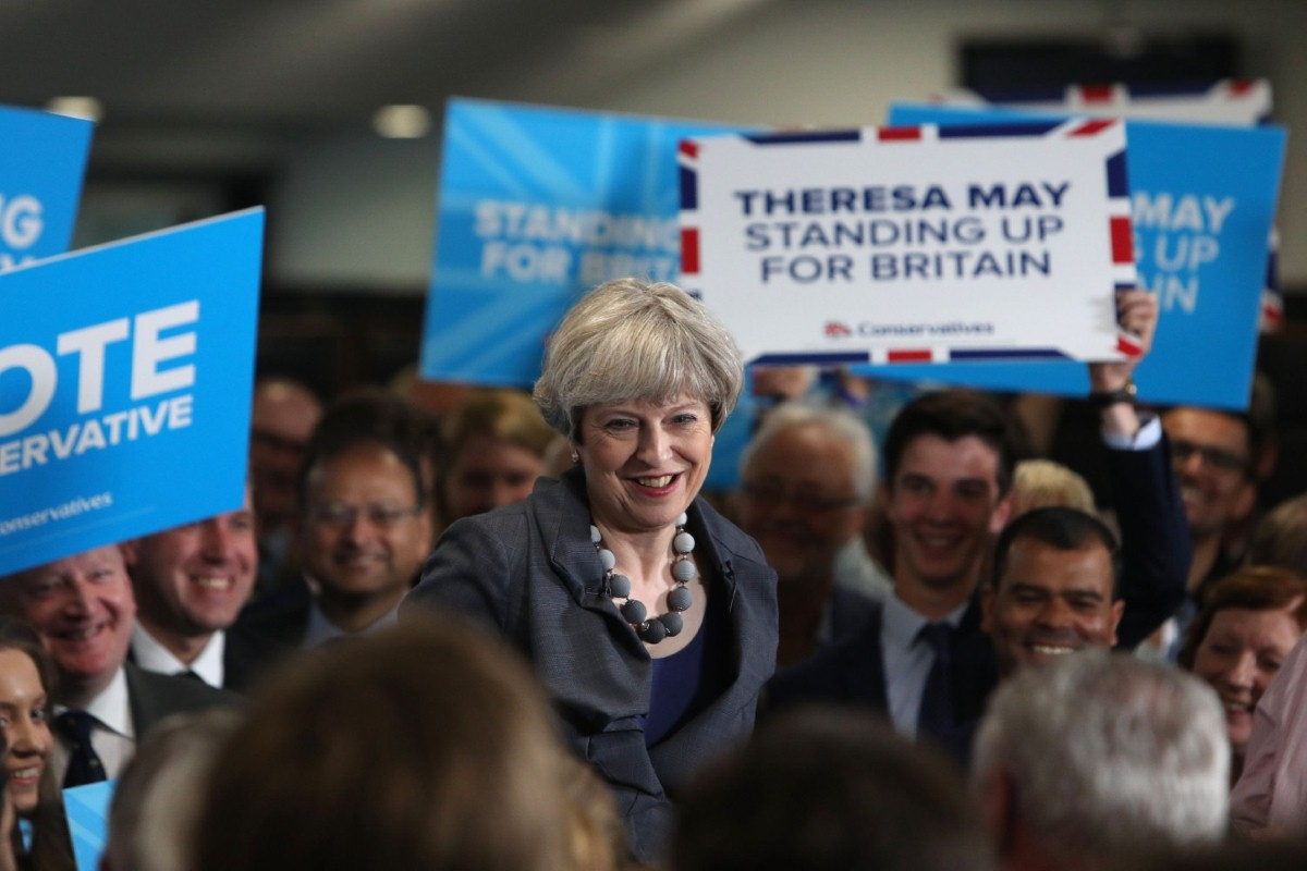 Theresa May is scrambling for Ukip votes to rescue her floundering campaign