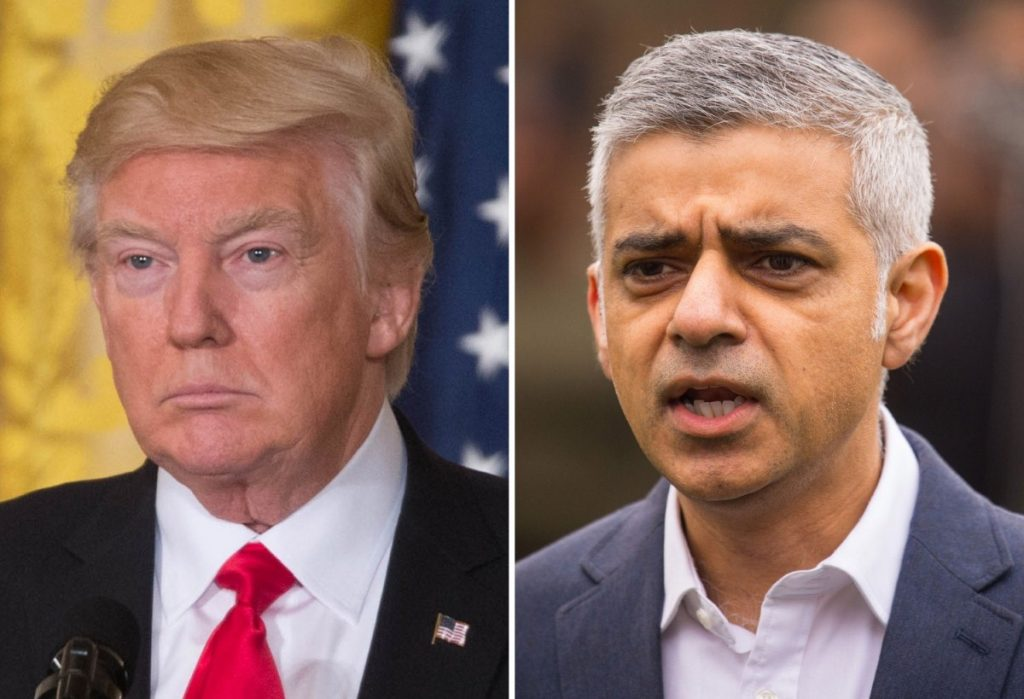 "Trump to Khan: ""Pathetic"""