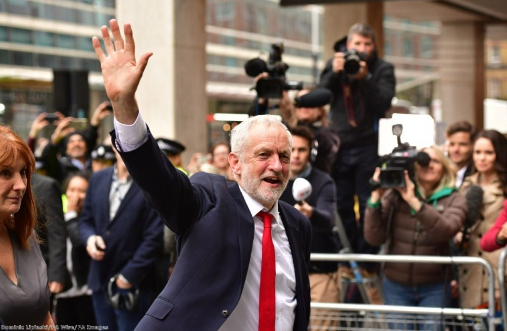 Jeremy Corbyn has put Labour in a position to challenge for an outright majority