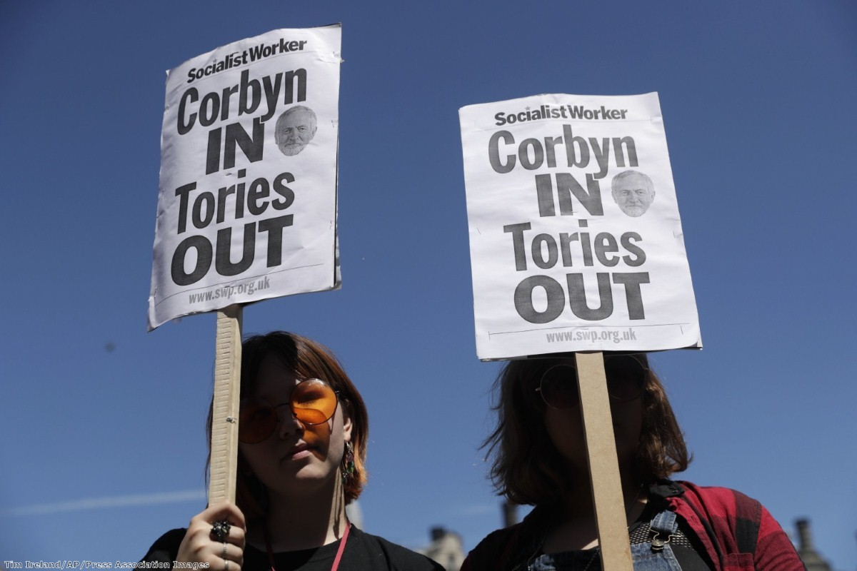 Britain faces a political crisis at a national crunch point