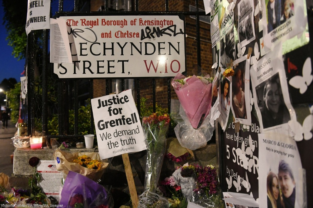 """""""Groups working on the ground in Kensington are worried that people could be prevented from seeking support or even from notifying authorities of missing relatives"""""""