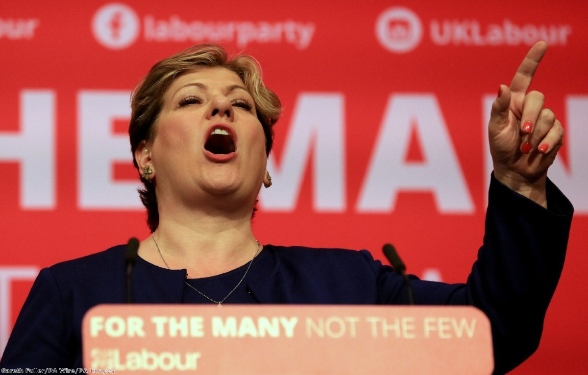 """""""As would-be foreign secretary, never mind potential leader, Emily Thornberry must say now where she stands."""""""