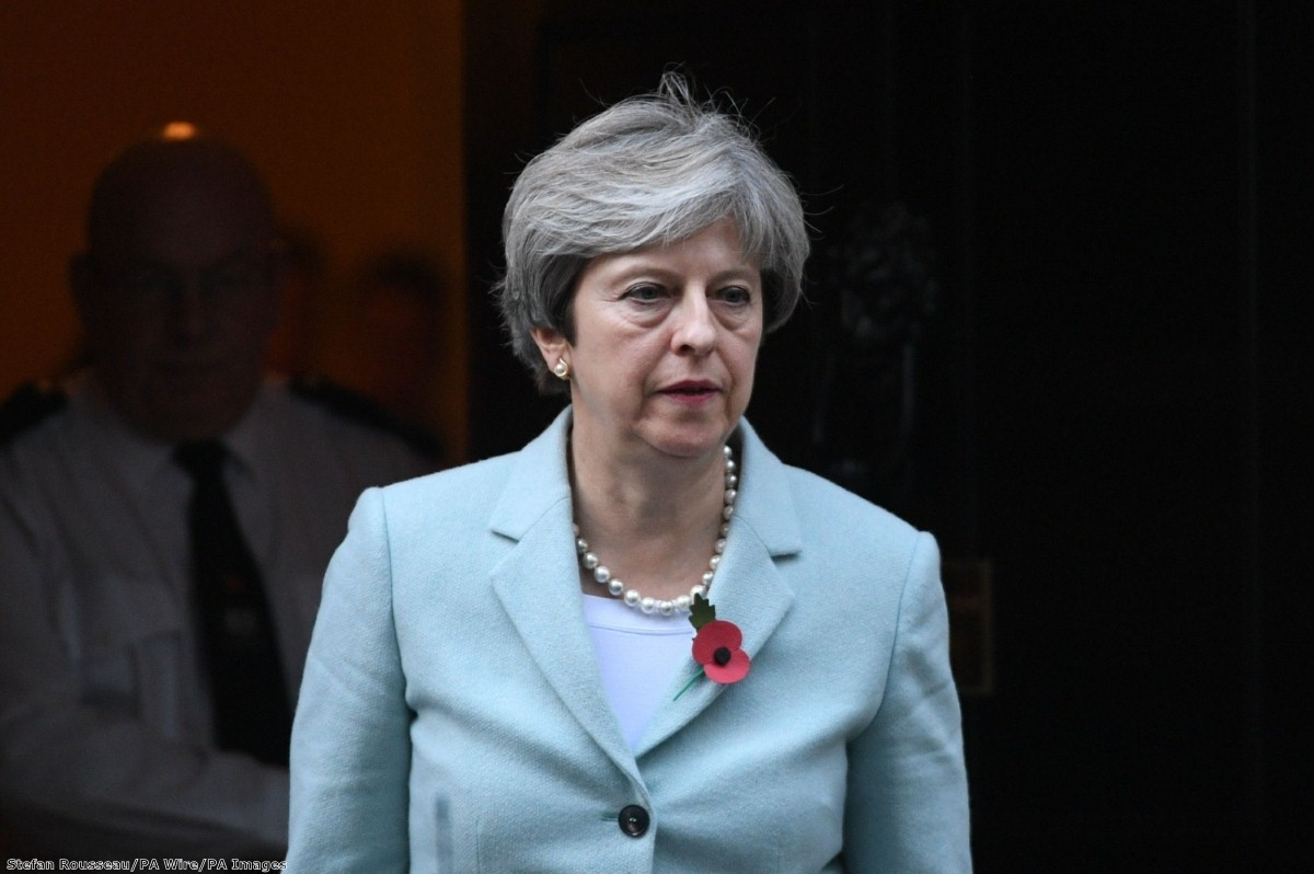 """""""It's worth noting May's instinctive reaction to trouble: she retreats quickly to her Brexit support base"""""""