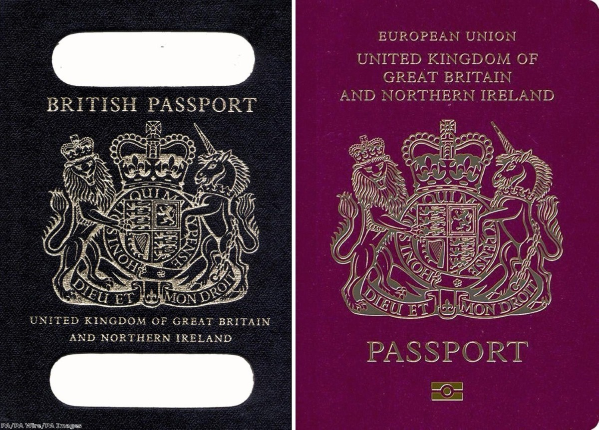 """""""Apparently the new passport will have images inside of Britishness"""""""