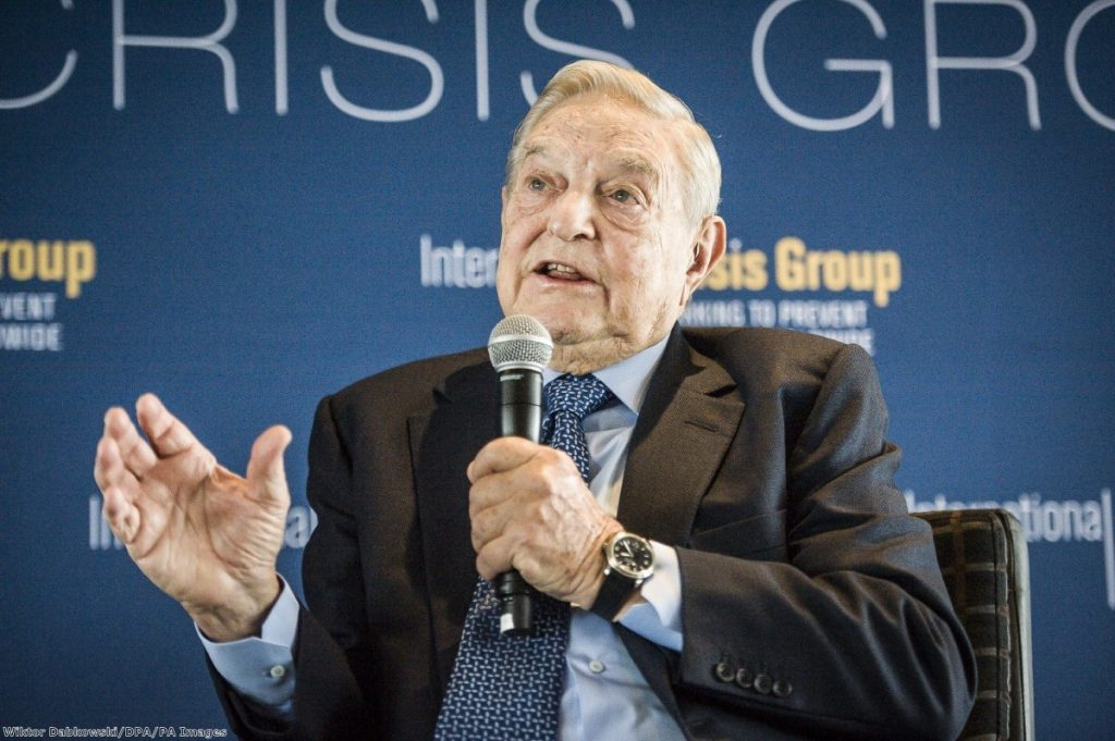 """The ferocious focus on George Soros in the British press this week felt alien"""