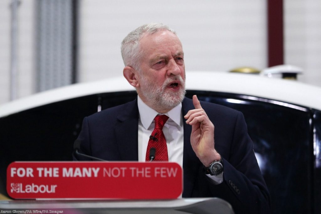 """Corbyn is raising issues he thinks he can secure a presentational win on"""