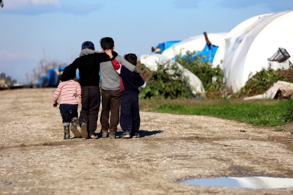 Child refugees are often left stranded and alone without the right to bring family over.