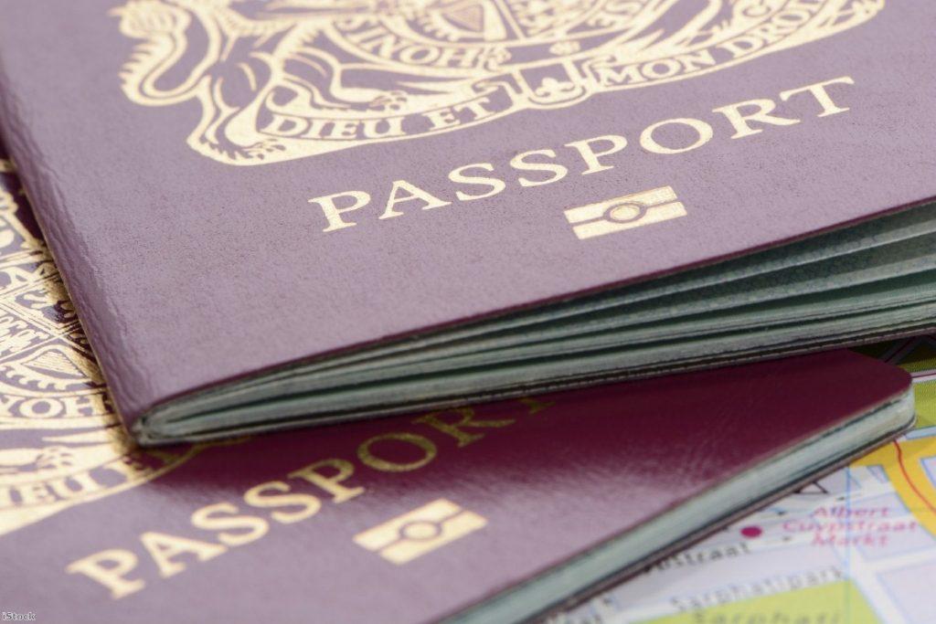 UK biometric passports | Copyright: iStock