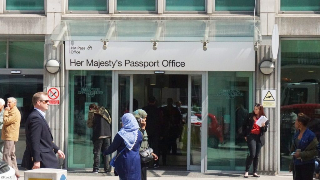 Her Majesty's Passport Office in London | Copyright: iStock