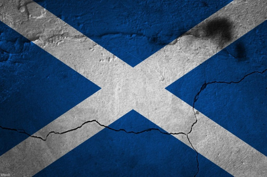 Scottish independence is fading away just as it's proved right. | Copyright: iStock