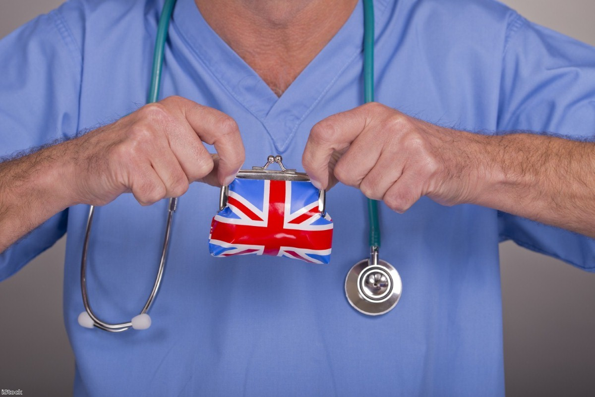 In a nation riven by Brexit, the NHS unites the population. | Copyright: iStock