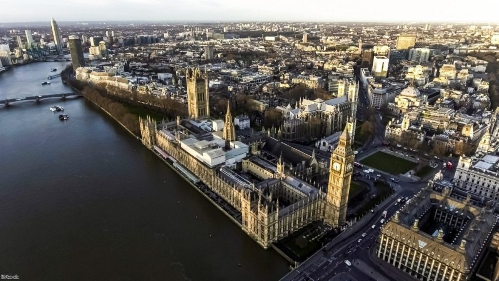 Aerial view of the Houses of Parliament | Copyright: iStock