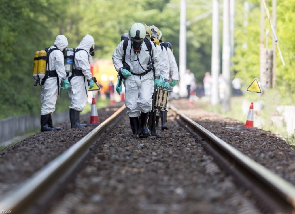 Toxic chemicals and acids emergency team | Copyright: iStock