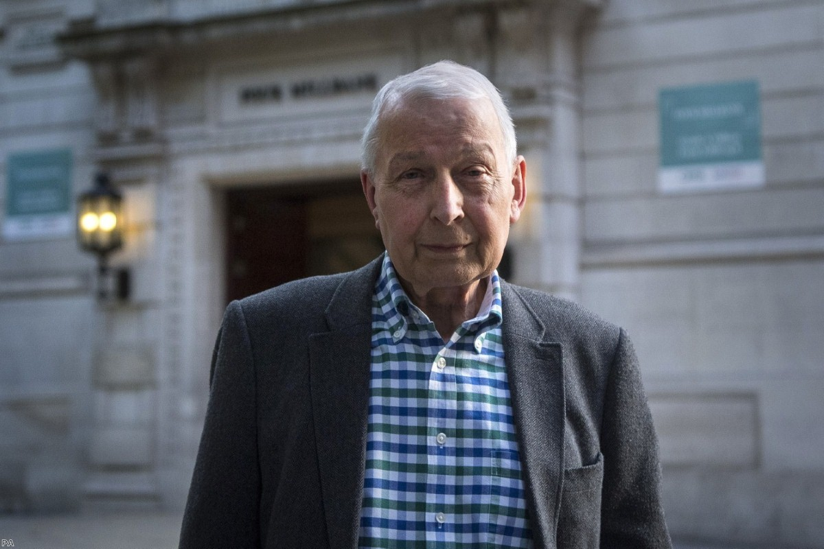 Frank Field MP in Westminster after resigning from the Labour party | Copyright: PA
